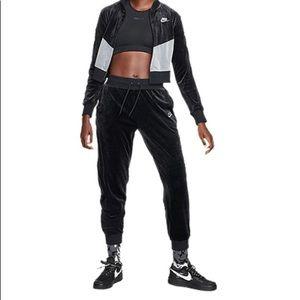Nike women's velour tracksuit